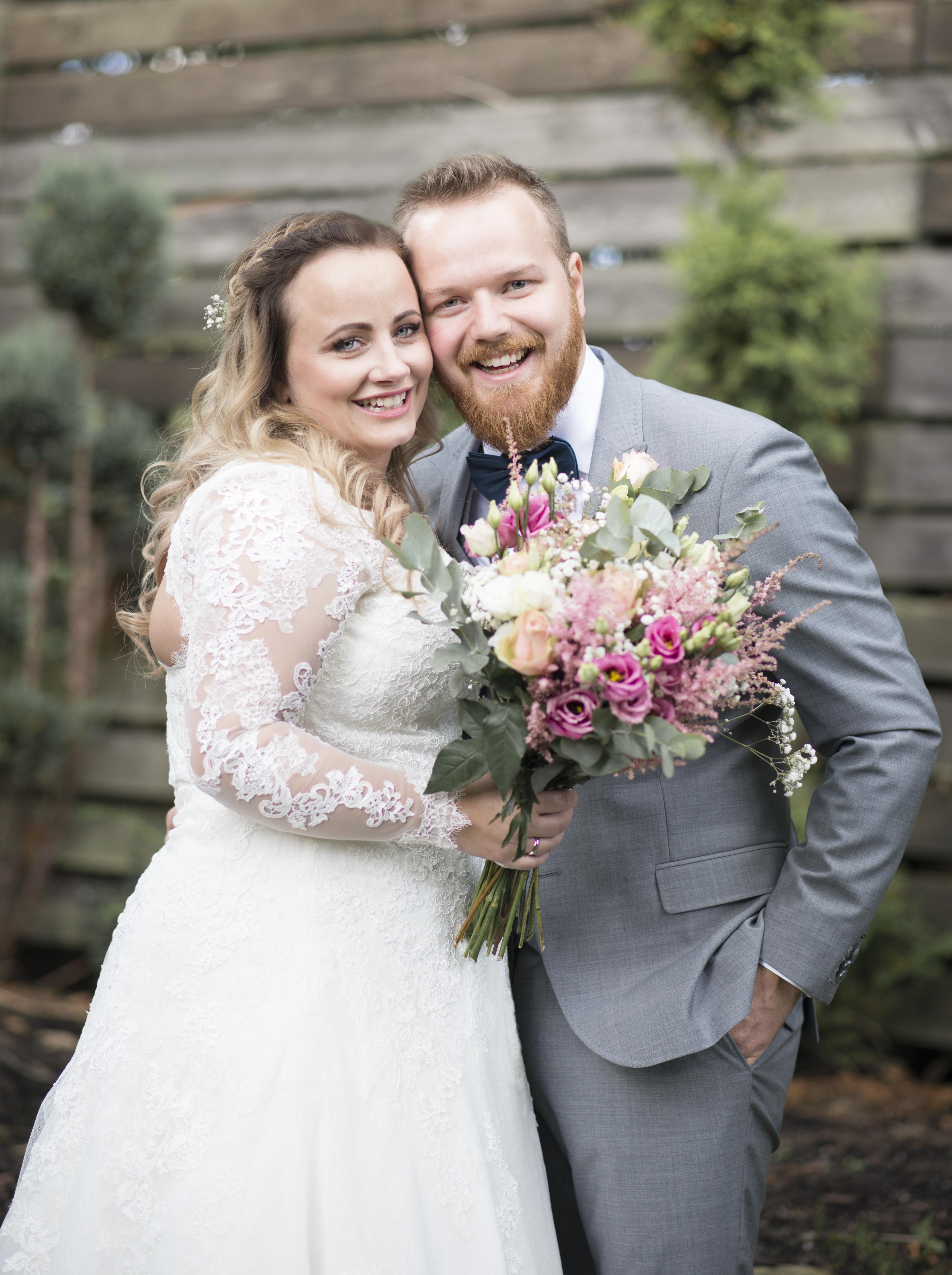 brudepar portrett